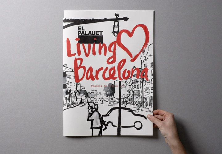 El Palauet Living Barcelona / Corporate brochure for luxury apartments. 2010