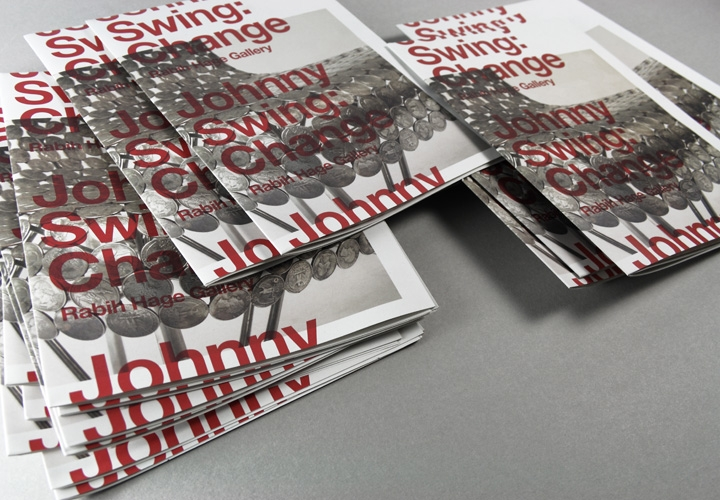 Rabih Hage Gallery / Johny Swing exhibition poster and invitation. 2010