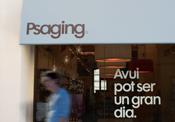 Psaging / Natural Health & Beauty Nutrition stores. 2011