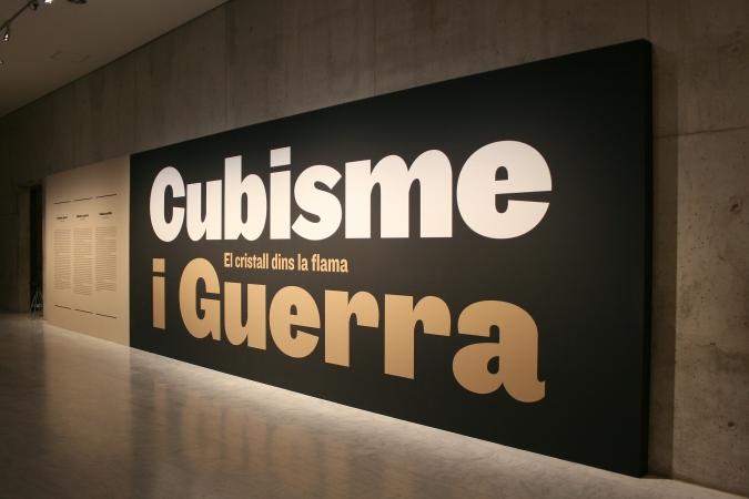 Museu Picasso Barcelona / Cubisme i Guerra - Exhibition Graphics. 2016