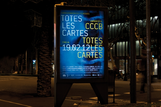 CCCB / Totes les cartes exhibition. Communication campaign. 2012