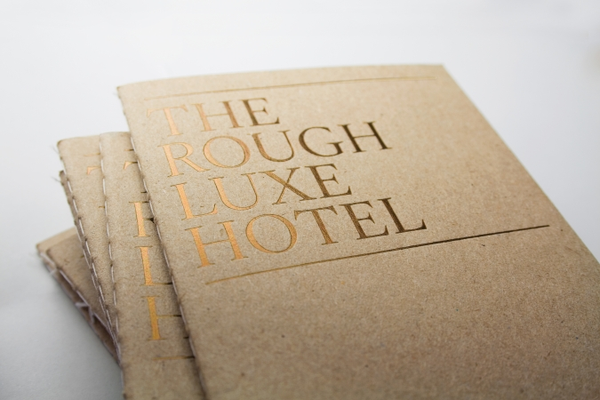 Rough Luxe Hotel. Kings Cross, London / Visual identity. 2008