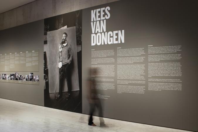 Museu Picasso Barcelona / Kees Van Dongen exhibition graphics / Museography: Guri Casajuana. 2009