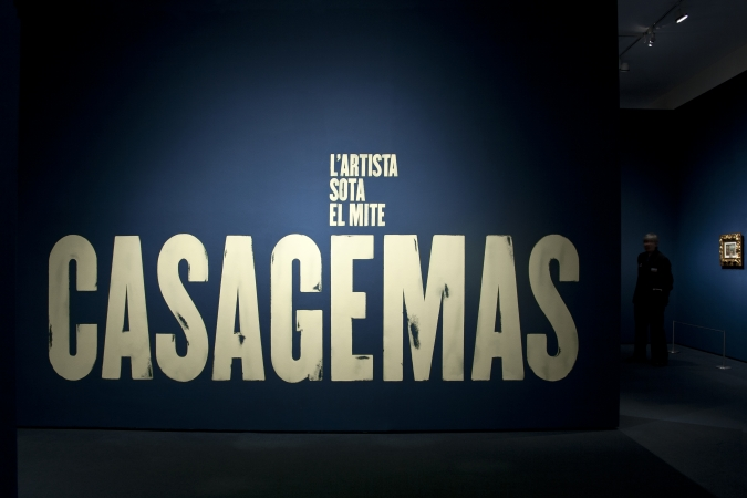 MNAC / Casagemas exhibiton graphics. 2015. Architects: Guri Casajuana