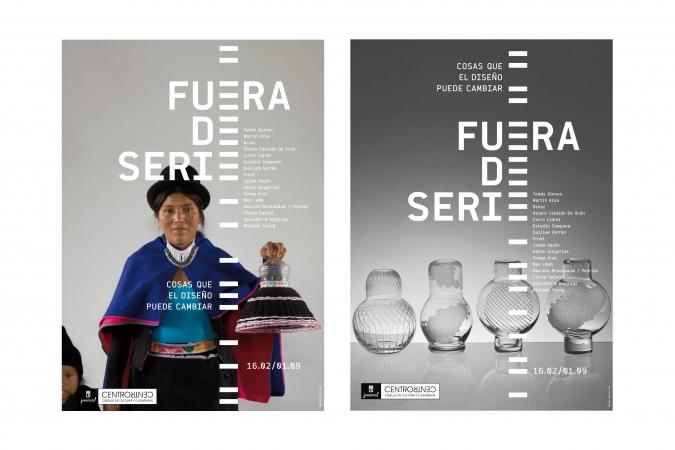 CentroCentro / Fuera de Serie exhibition posters. 2009