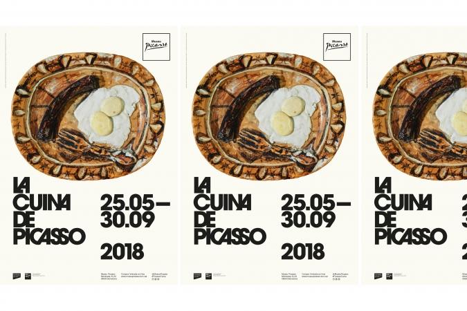 Museu Picasso Barcelona / La Cuina de Picasso Exhibition – Communication material. 2018
