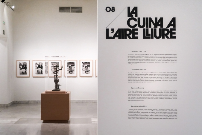 Museu Picasso Barcelona / La Cuina de Picasso - Exhibition Graphics / Exhibition Design: Victòria Garriga. 2018