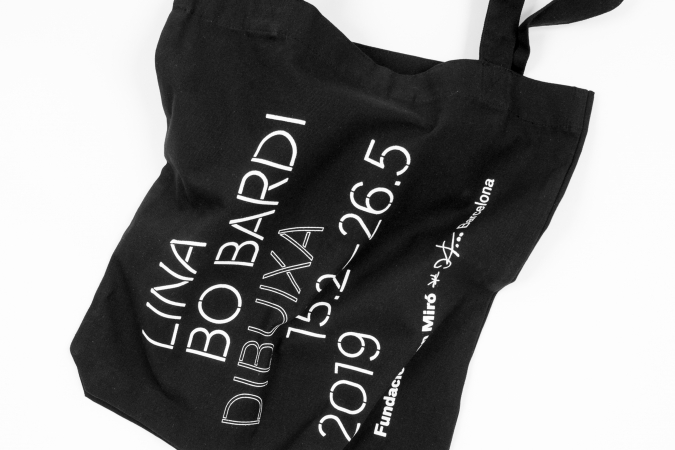 Fundació Joan Miró / Lina Bo Bardi Dibuixa Exhibition. Merchandising. 2019