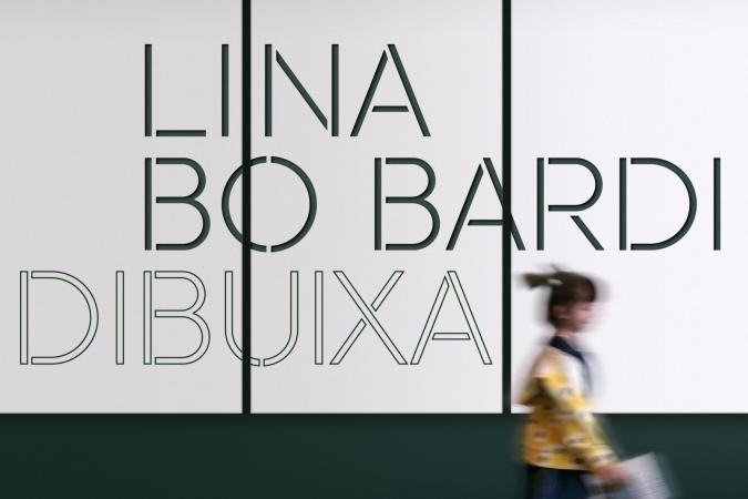 Fundació Joan Miró / Lina Bo Bardi Dibuixa / Exhibition Graphics. 2019
