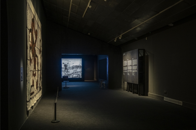 CCCB / William Kentridge - Exhibition Graphics / Museography: Guri Casajuana. 2020