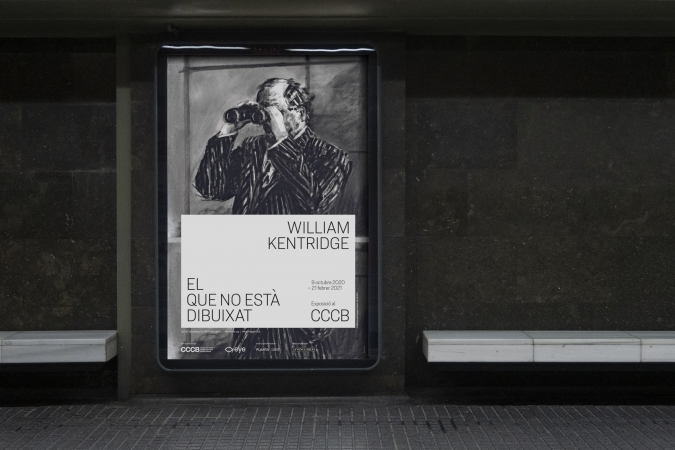 CCCB / William Kentridge Exhibition - Communication Material. 2020