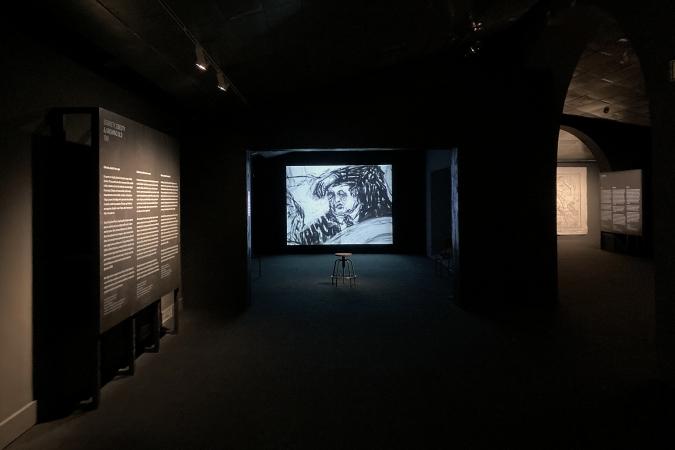 CCCB / William Kentridge - Exhibition Graphics / Museography: Guri Casajuana. 2020