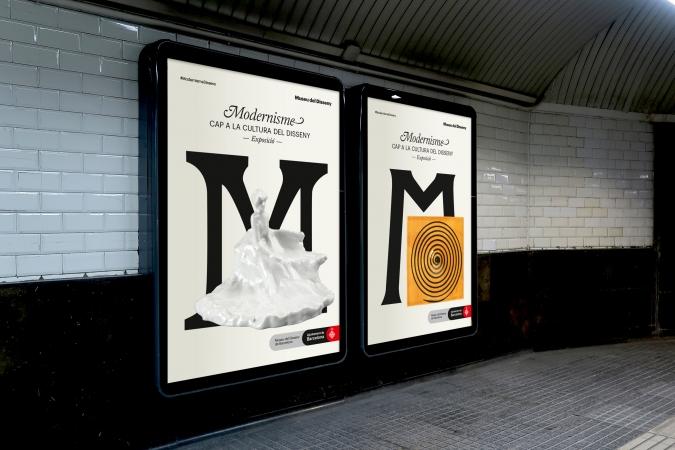 Museu del Disseny / Modernisme - Exhibition Posters / 2020
