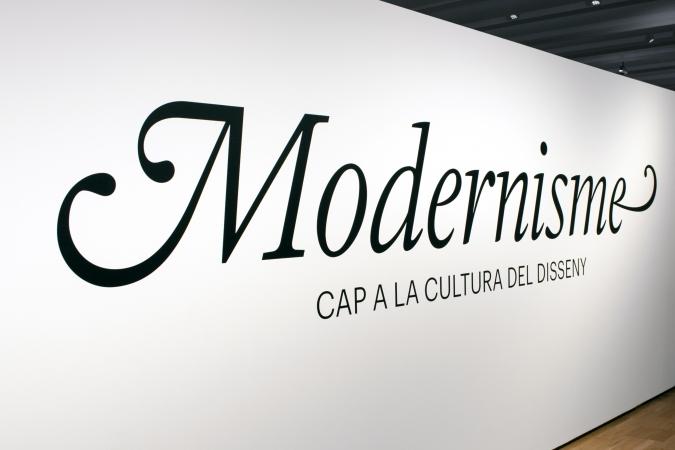 Museu del Disseny / Modernisme - Exhibition Graphics / Museography: Estudi Bonjoch / 2020