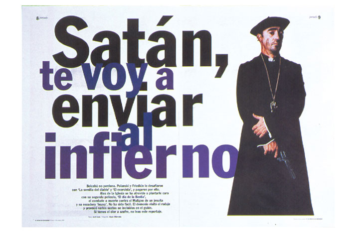 Tentaciones / Supplement for Spanish newspaper El País. Creative Director Fernando Gutiérrez. 1996